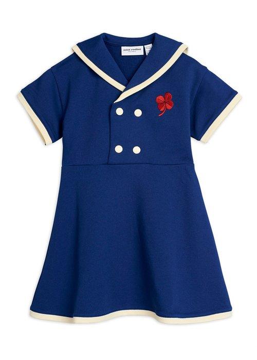 Mini Rodini Mini Rodini Sailor Sweatdress Navy