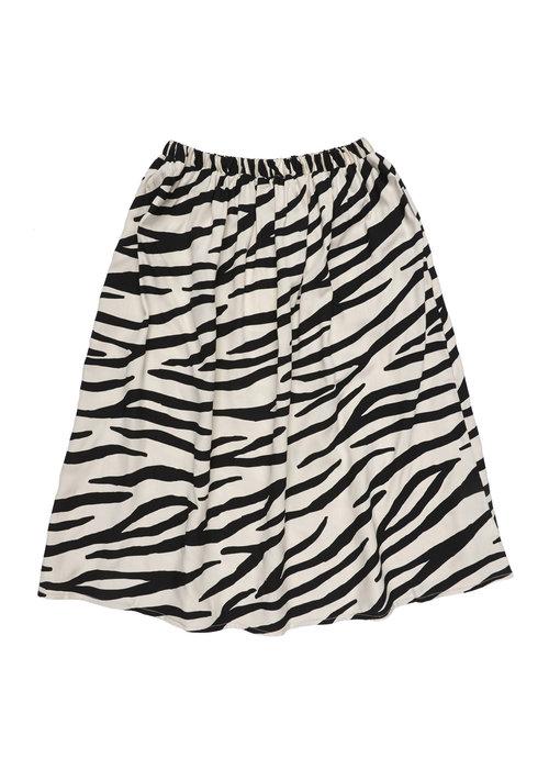 Maed for Mini Maed for Mini Smiling Zebra Long Skirt