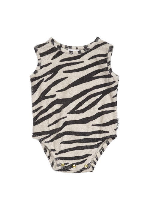 Maed for Mini Maed for Mini Smiling Zebra Bodysuit