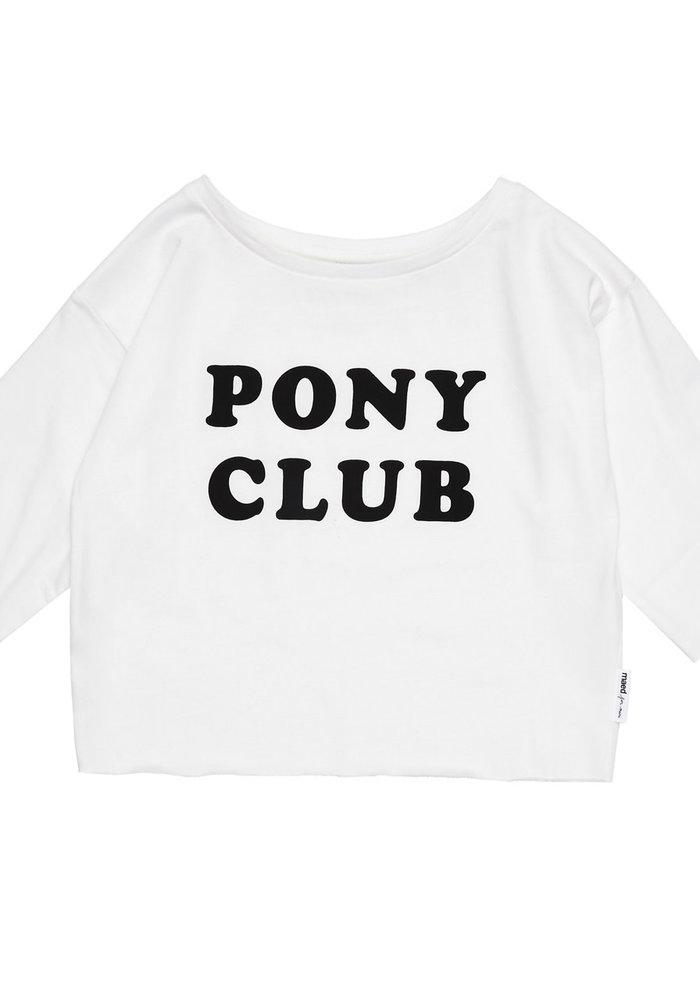 Maed for Mini Pony Club T-shirt
