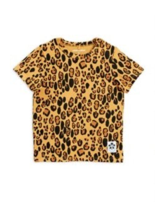 Mini Rodini Mini Rodini Leopard SS Tee