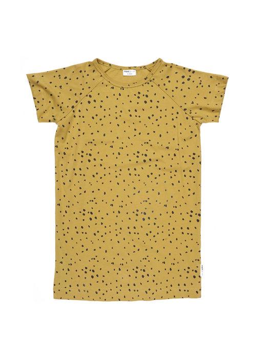 Maed for Mini Maed for Mini Ochre Ocelot T-shirt Dress