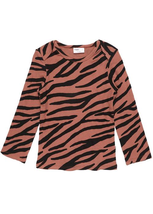 Maed for Mini Maed for Mini Blushing Zebra Longsleeve