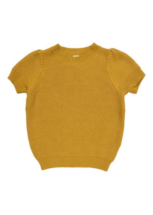 Maed for Mini Maed for Mini Golden Grasshopper Knit Top