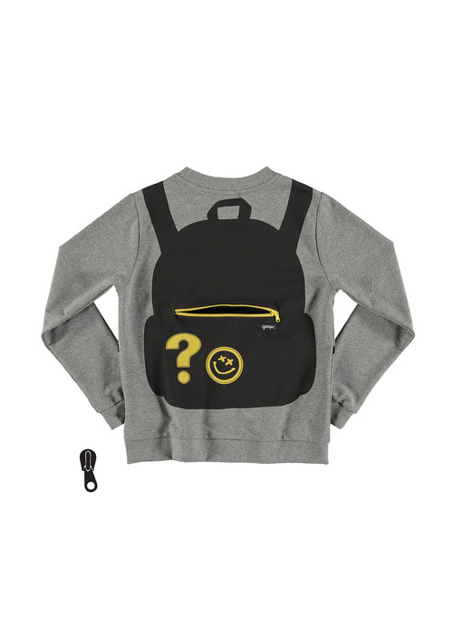 Yporqué Yporqué Backpack Zipper Sweat Melange
