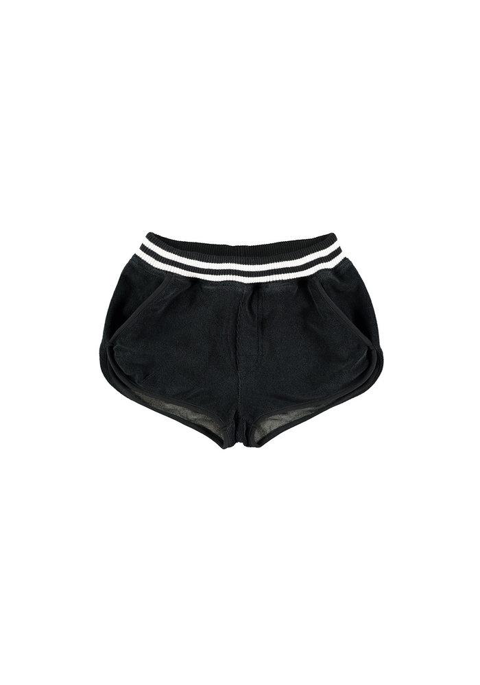 Yporqué Towel Shorts Black