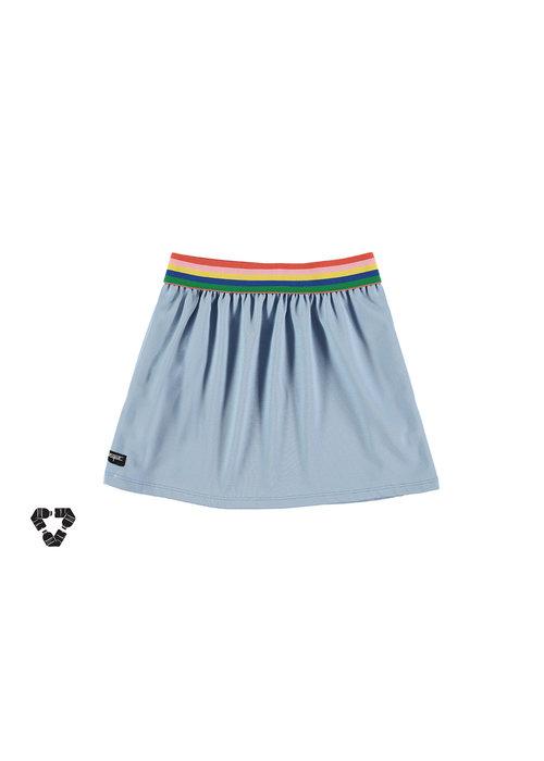Yporqué Yporqué Recycled Tech Skirt Pastel Blue
