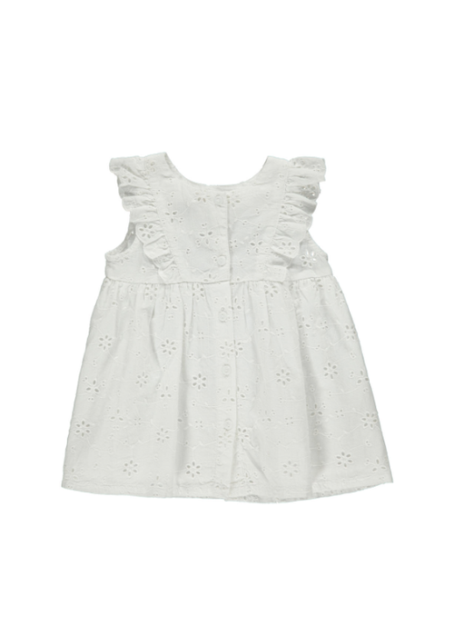 MarMar MarMar Deas Broderie Anglaise Dress White