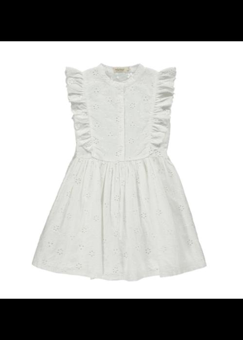 MarMar MarMar Deidra Dress Broderie Anglaise White