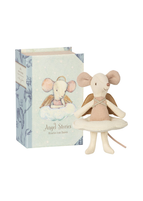 Maileg Maileg Angel Mouse Big Sister in Book