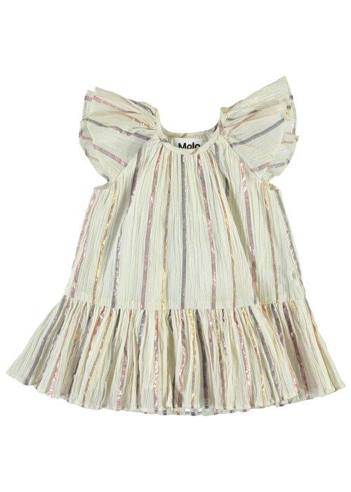Molo Molo Cindie Dress Metalic Stripe