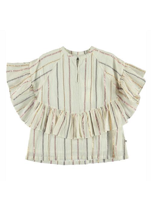 Molo Molo Renee Shirt Metallic Stripe