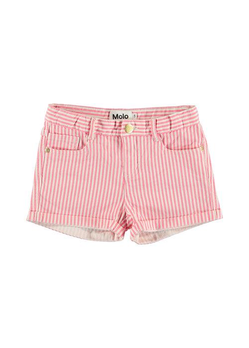 Molo Molo Audrey Shorts Pink Stripe
