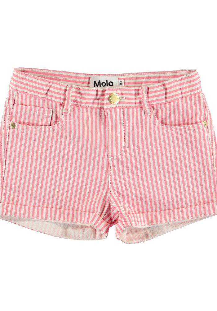 Molo Audrey Shorts Pink Stripe