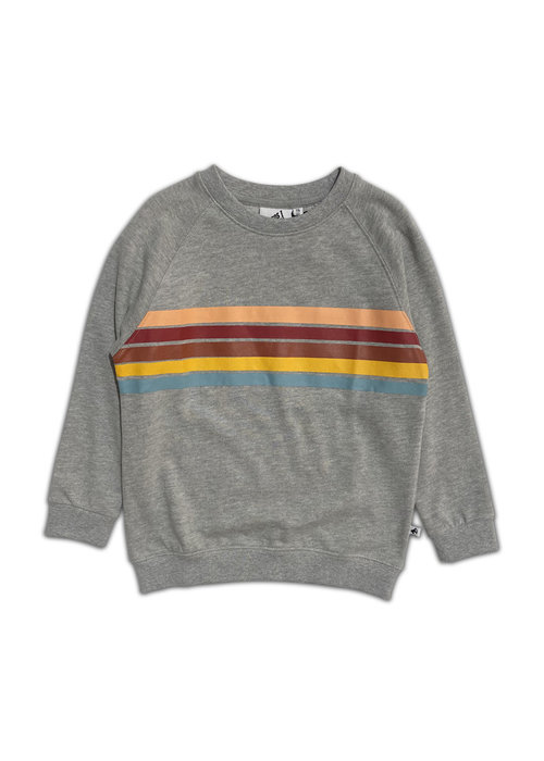Cos I Said So Cos I said So Rainbow Sweater Grey