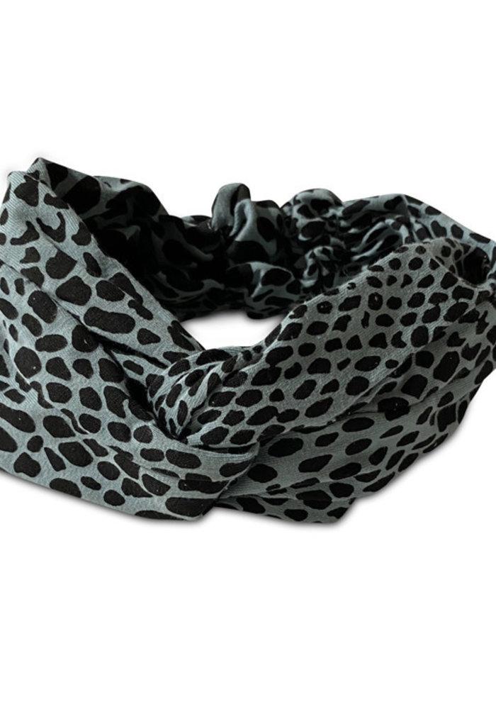 Cos I Said So Headband Snake Print Tourmaline