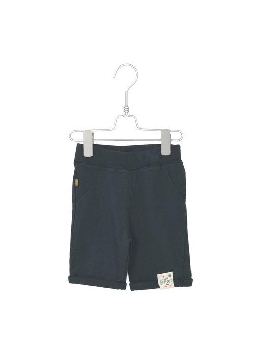 Lötiekids Lötiekids Bermuda Shorts Solid Washed Black