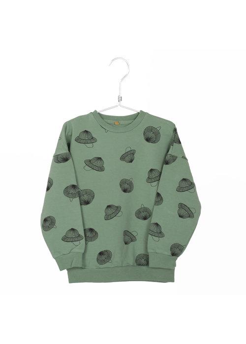 Lötiekids Lötiekids Sweatshirt Hats tree Green