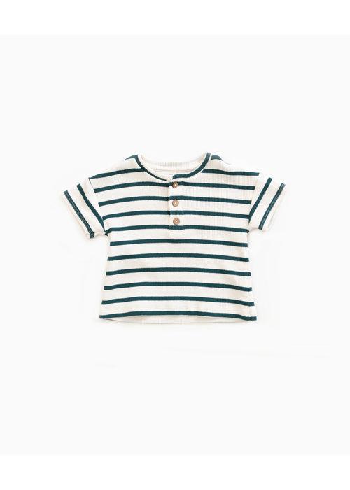 Play Up Play Up Striped Rib T-shirt