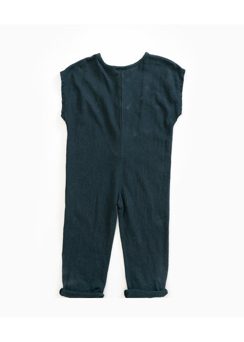 Play Up Play Up Mixed Jumpsuit