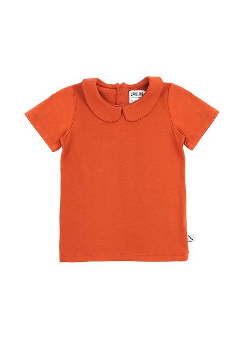 CarlijnQ CarlijnQ T-shirt Collar Cinnamon