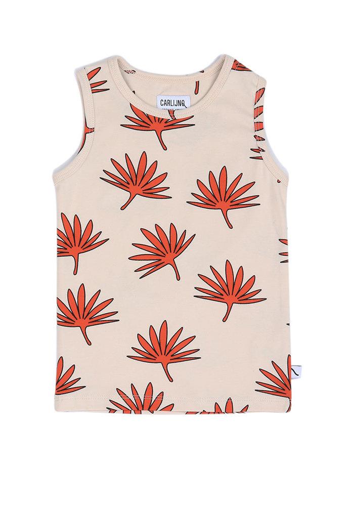 CarlijnQ Tanktop Palm Leaf