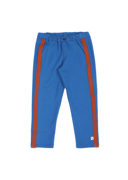 CarlijnQ CarlijnQ Chino Striped Blue & Rust