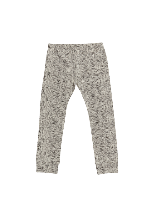 Blossom Kids Blossom Kids Legging Dotted Waves Chocolate Cacao