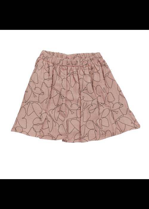 Blossom Kids Blossom Kids Muslin Short Skirt  Butterfly