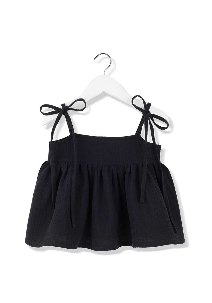 Kids on the Moon Evening Shadow Bow Top