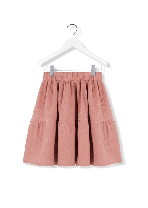 Kids on the Moon Kids on the Moon Coral Cloud Cascade Skirt