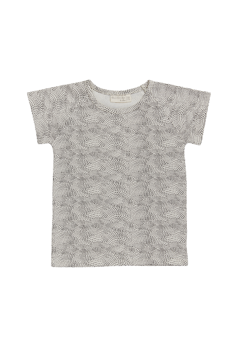 Blossom Kids Blossom Kids Raglan Short sleeve shirt - Dotted Waves