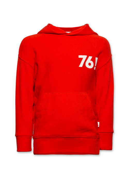 AO76 AO76 Sweater Hoodie Brushed Sweats Red