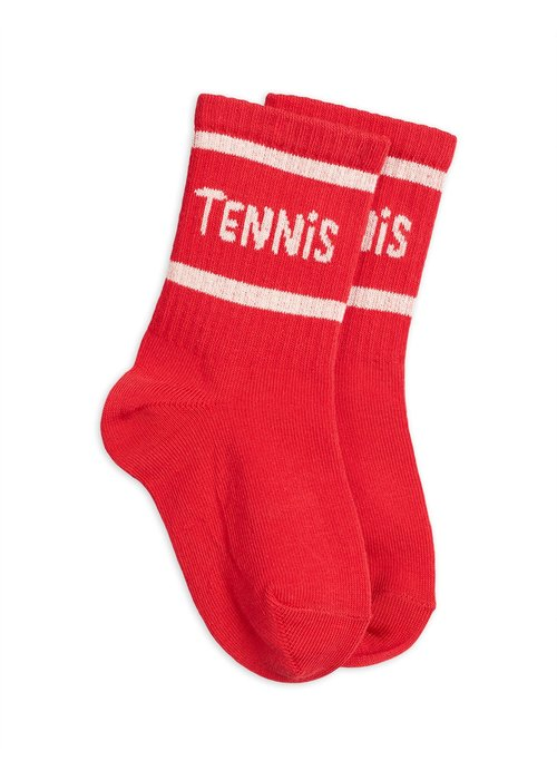 Mini Rodini Mini Rodini Tennis Socks Red