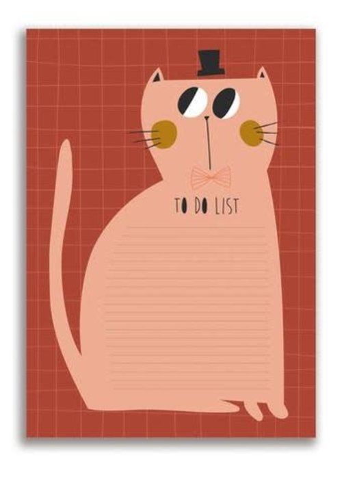 Studio Loco Studio Loco Notepad Cat A5