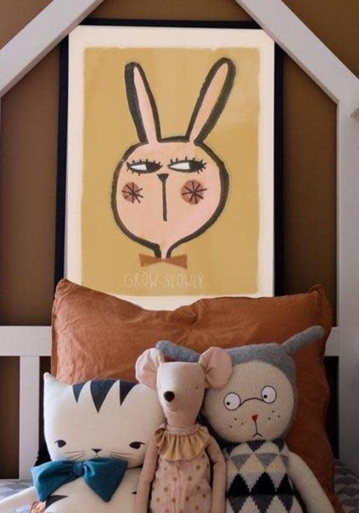 Studio Loco Wallposter Rabbit 50x70cm