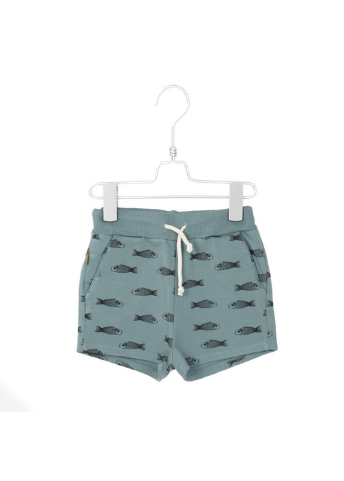 Lötiekids Lötiekids Shorts Fishes Bluegrey
