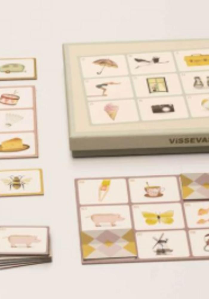 Vissevasse Picture Bingo
