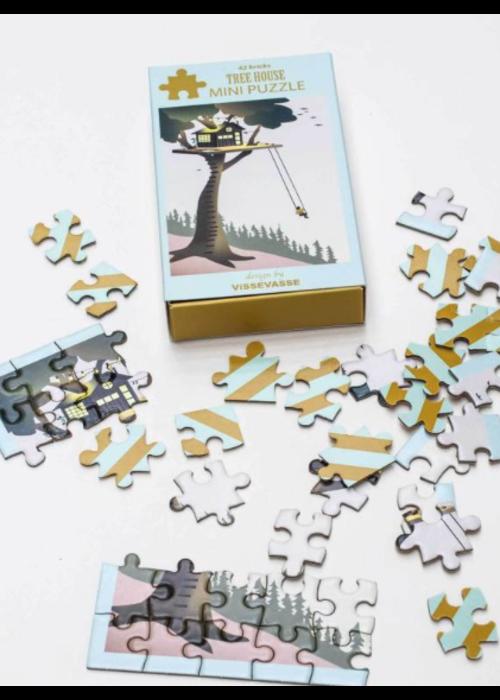 Vissevasse VisseVasse Mini Puzzle Tree House