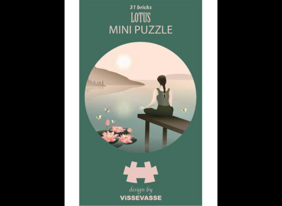 VisseVasse Mini Puzzle Lotus