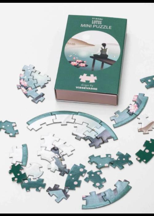 Vissevasse VisseVasse Mini Puzzle Lotus