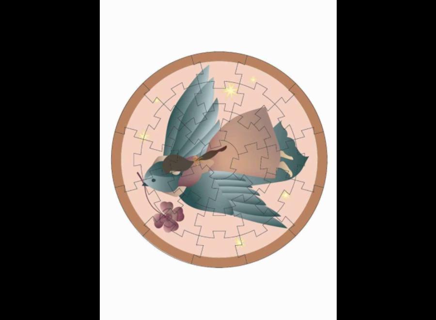 VisseVasse Mini Puzzle Girl & Bird