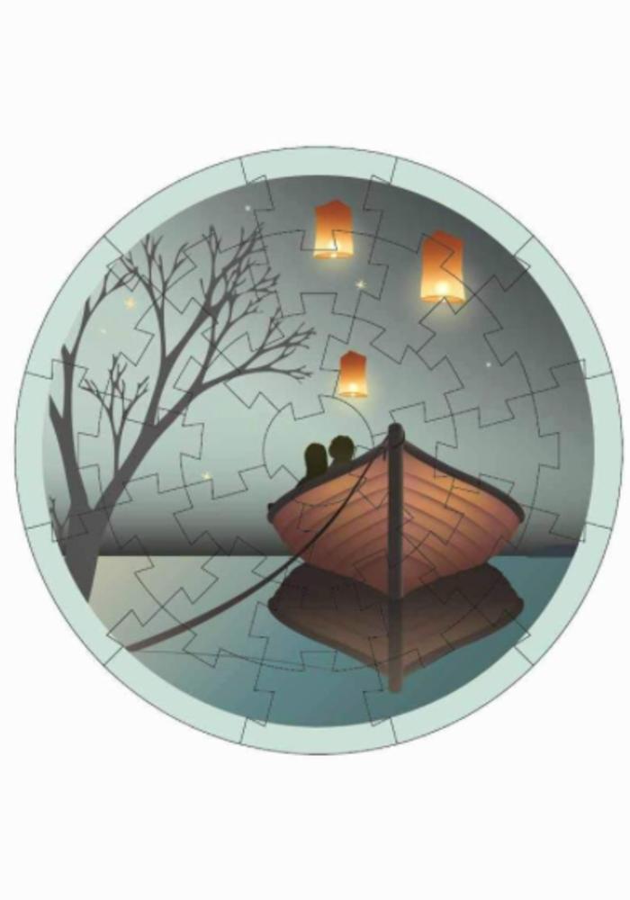 VisseVasse Mini Puzzle Lanterns