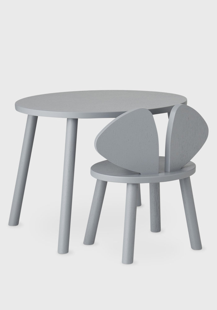 Nofred Mouse Chair (2-5 Years) - Grey