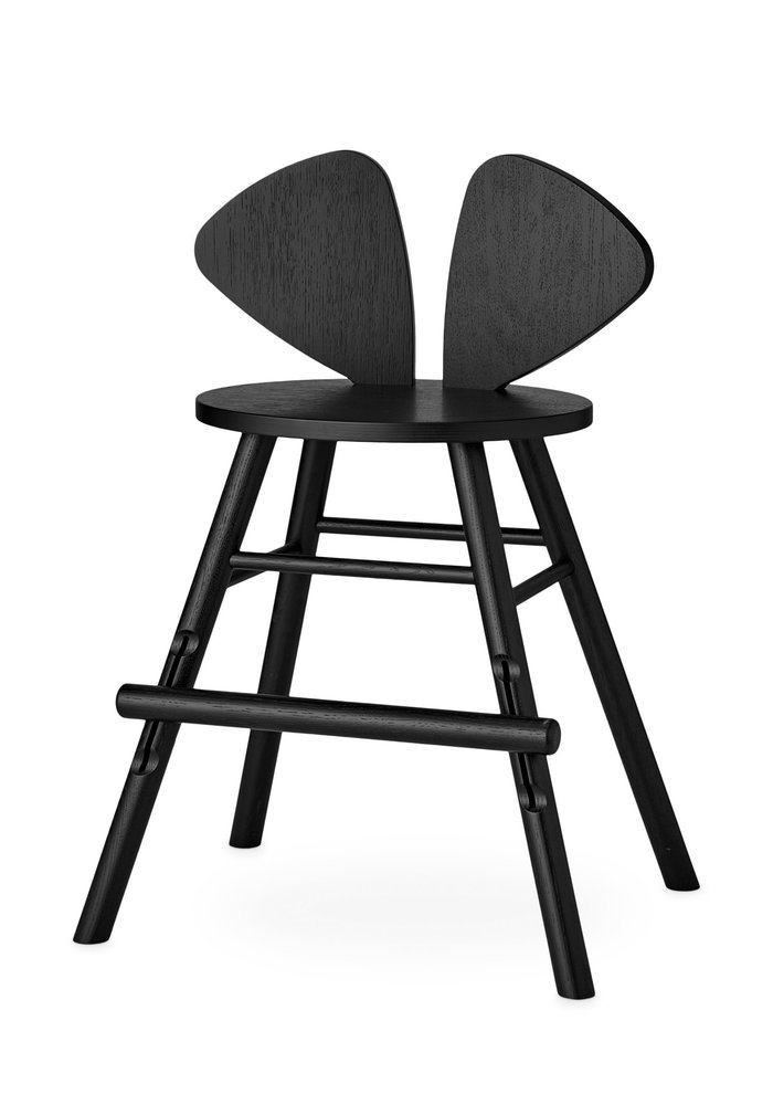 Nofred Mouse Chair Junior (3-9 years) - Black