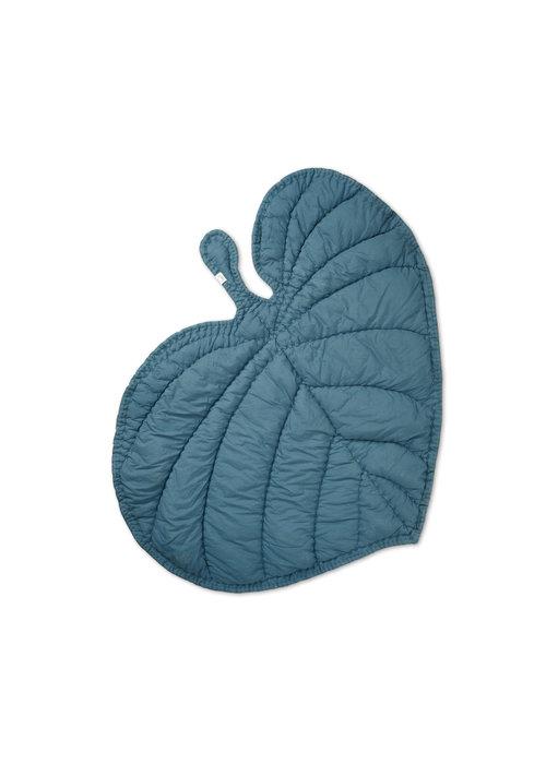 Nofred Nofred Leaf Blanket - Petroleum
