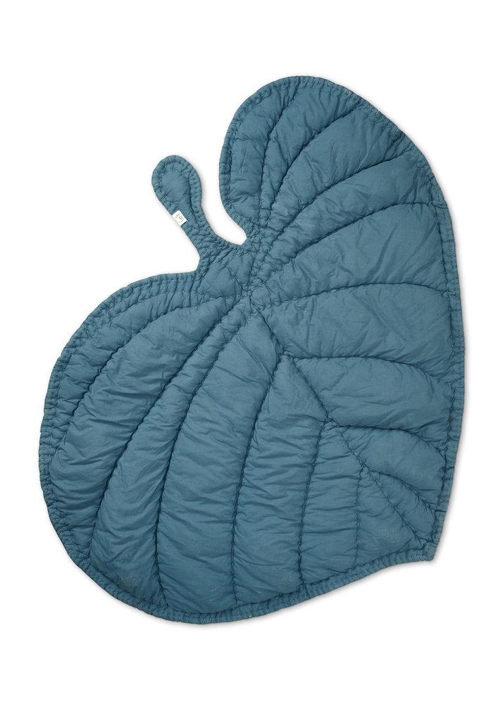 Nofred Leaf Blanket - Petroleum