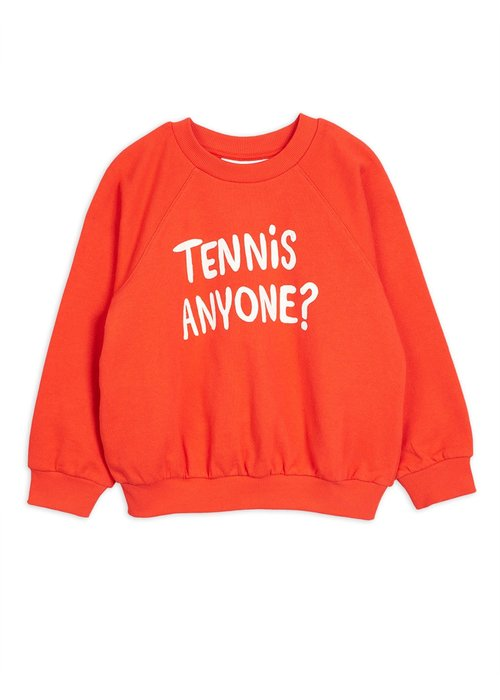 Mini Rodini Mini Rodini Tennis Anyone Sweatshirt Red