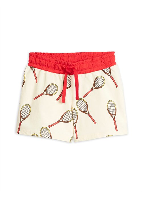 Mini Rodini Mini Rodini Tennis aop Shorts Offwhite