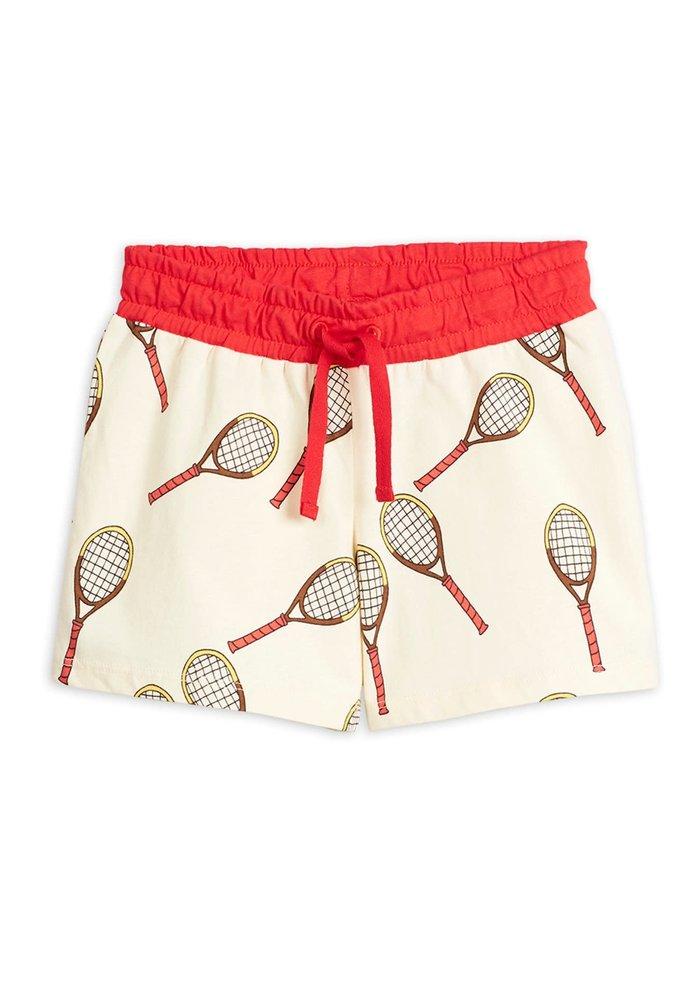 Mini Rodini Tennis aop Shorts Offwhite
